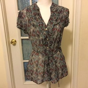 Maurices woman's top size medium